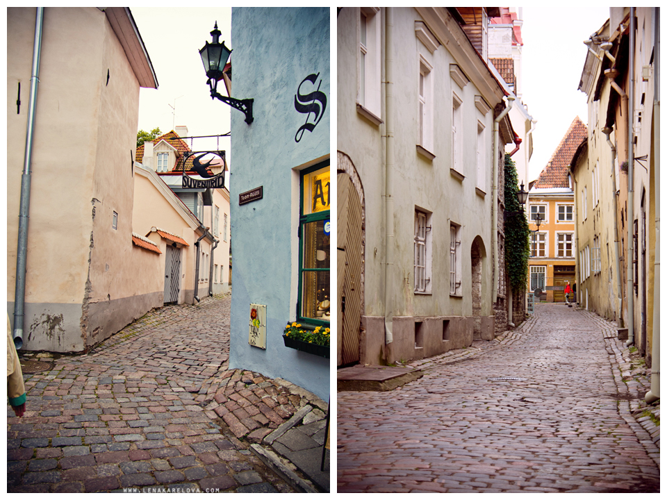 Amazing city of Tallinn in the North of Estonia