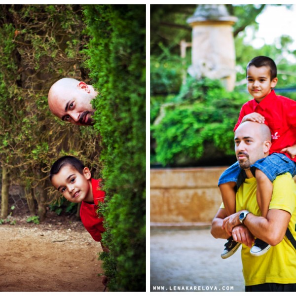 Photostory about one little man