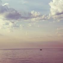Barceloneta a las 8 de la mañana, foto de Lena Karelova