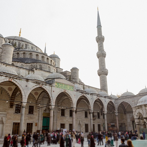 Paseando por Estambul