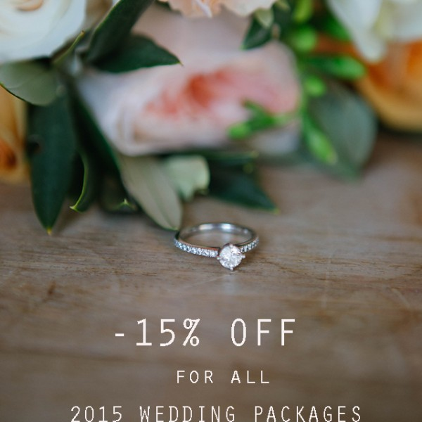 Special Offer for Wedding photography packages 2015