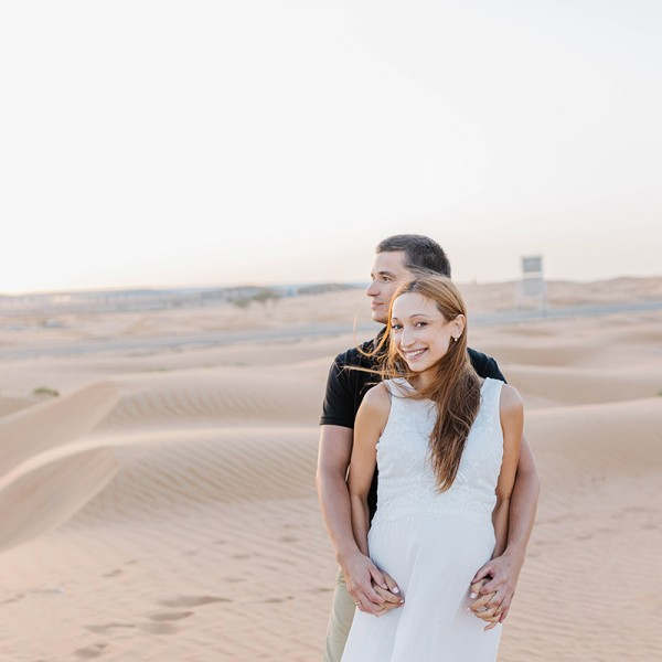 Maternity Photoshoot in Dubai Desert