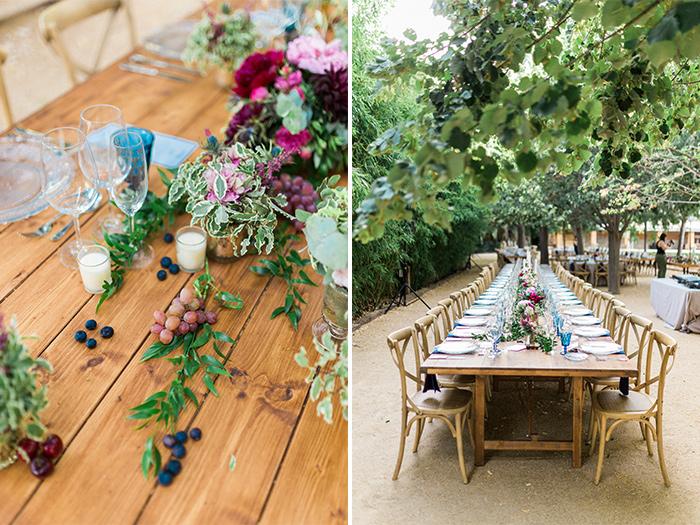 Gorgeous flower settings| Wedding at Torre Sever | Destination Wedding Photographer Barcelona
