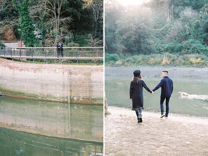 Walking in the woods | Collserola Wedding Anniversary Photoshoot | Lena Karelova Barcelona Film Photography