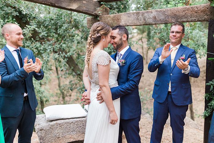 Lovely ceremony | Wedding at Torre Sever | Destination Wedding Photographer Barcelona