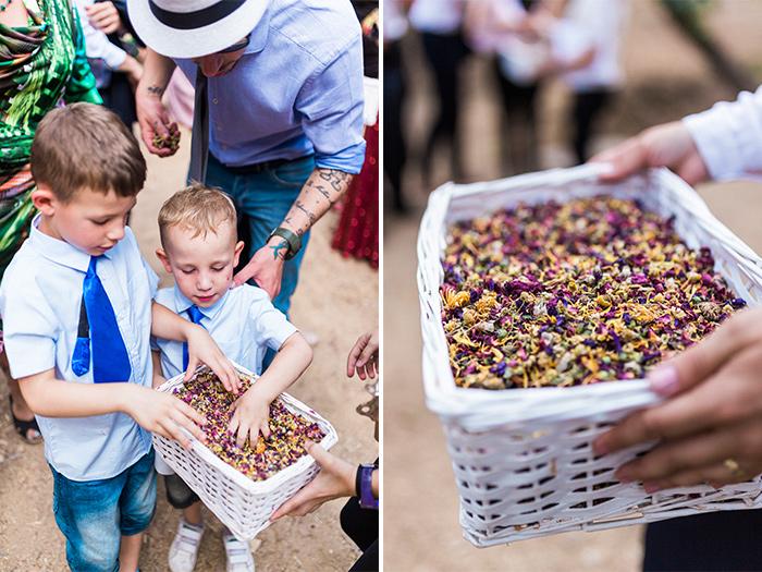 little guests |Wedding at Torre Sever | Destination Wedding Photographer Barcelona