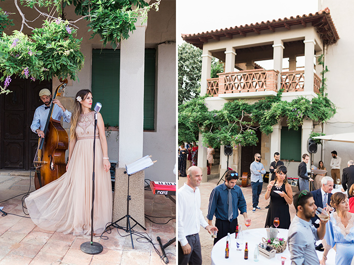 Relaxing atmosphere| Wedding at Torre Sever | Destination Wedding Photographer Barcelona