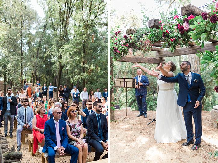 The ceremony | Wedding at Torre Sever | Destination Wedding Photographer Barcelona