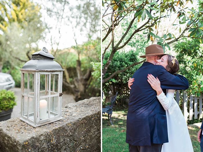Bride and his grandpa |Wedding at Mas Vidrier | Destination Wedding Photographer Barcelona