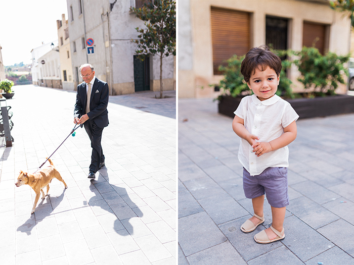 Grandpa and grandson | Wedding at Torre Sever | Destination Wedding Photographer Barcelona