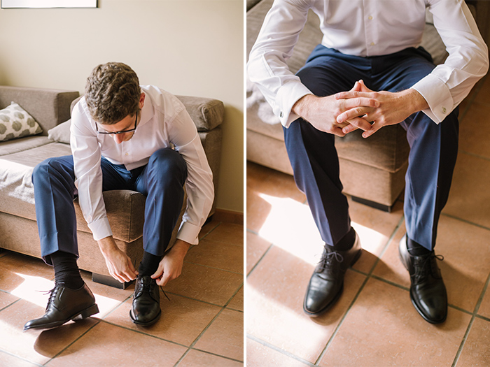 Getting ready before the ceremony |Wedding at Mas Vidrier | Destination Wedding Photographer Barcelona