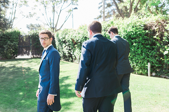 The groom |Wedding at Mas Vidrier | Destination Wedding Photographer Barcelona