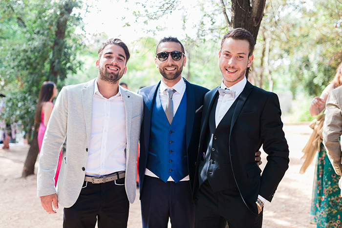 Groom and family | Wedding at Torre Sever | Destination Wedding Photographer Barcelona