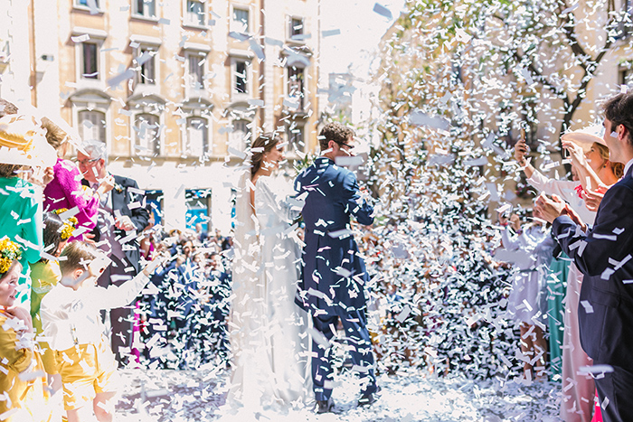 Ceremony at the Monastery Sant Pere de Puelles Barcelona |Wedding at Mas Vidrier | Destination Wedding Photographer Barcelona