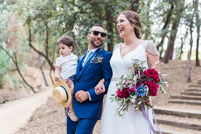 Bride coming | Wedding at Torre Sever | Destination Wedding Photographer Barcelona