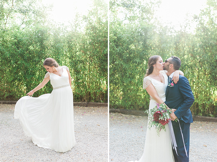 Light and airy Rosa Clara wedding dress |Wedding at Torre Sever | Destination Wedding Photographer Barcelona