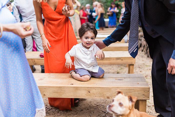 little boy | Wedding at Torre Sever | Destination Wedding Photographer Barcelona