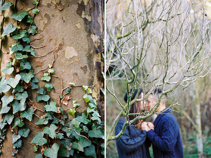 Collserola woods near Barcelona | Collserola Wedding Anniversary Photoshoot | Lena Karelova Barcelona Film Photography