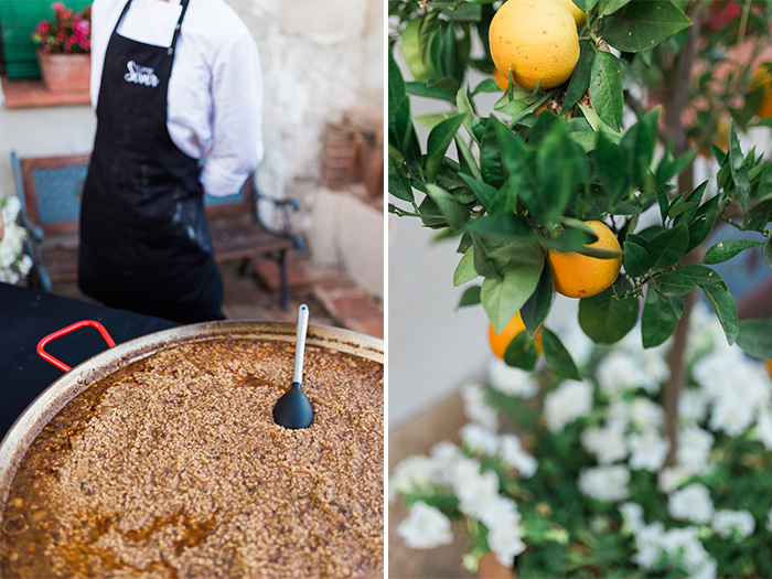 Catering | Wedding at Torre Sever | Destination Wedding Photographer Barcelona