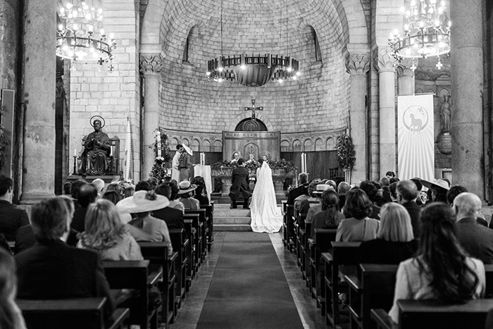 Ceremony at the Monastery |Wedding at Mas Vidrier | Destination Wedding Photographer Barcelona