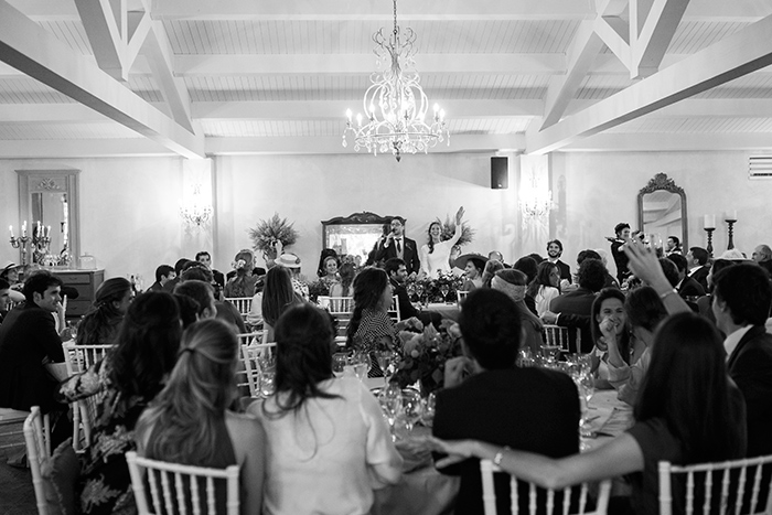 Groom's speech |Wedding at Mas Vidrier | Destination Wedding Photographer Barcelona