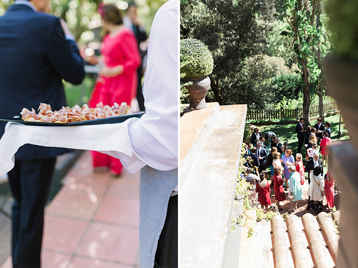 Catering |Wedding at Mas Vidrier | Destination Wedding Photographer Barcelona