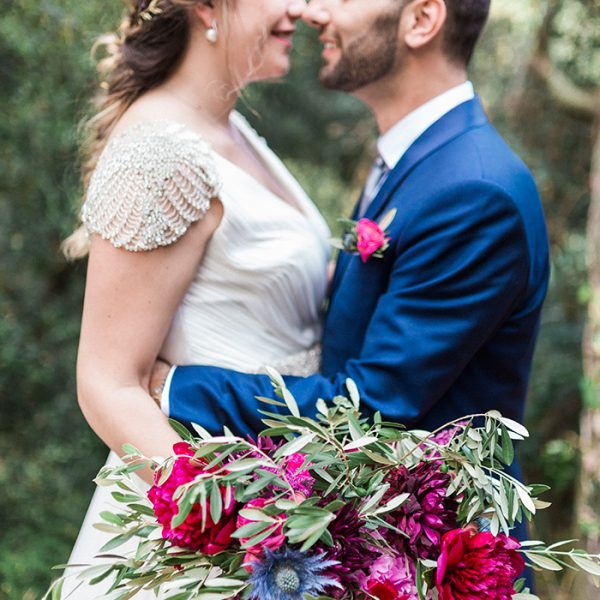 Open air wedding at Torre Sever | Ainara & Massimo