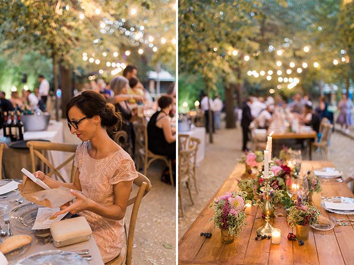 Reception dinner | Wedding at Torre Sever | Destination Wedding Photographer Barcelona