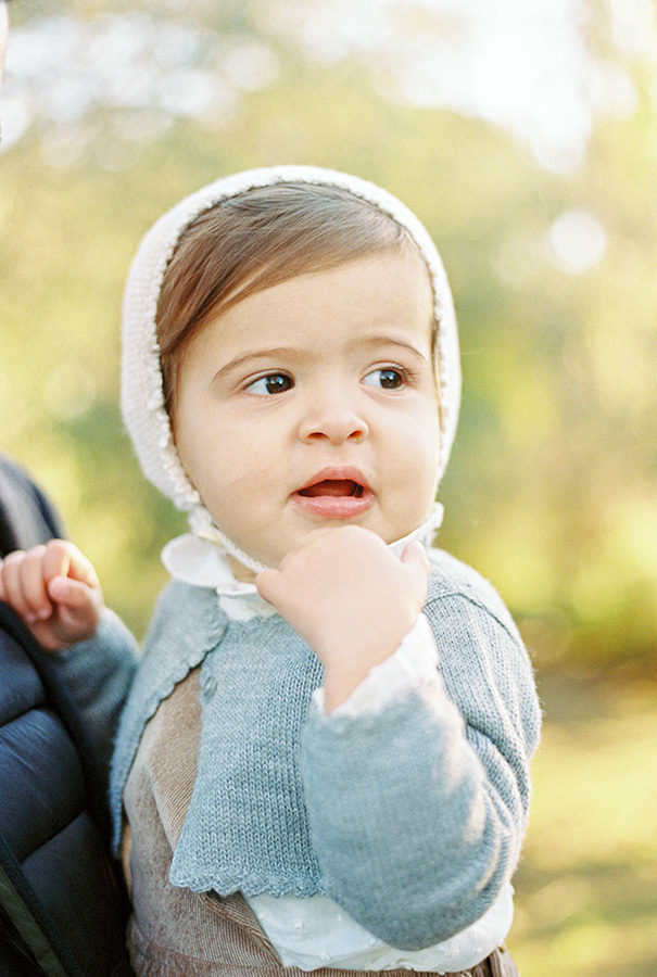 Adorable baby girl portrait | Family Photoshoot in Barcelona |Film Family Photographer | Lena Karelova | Kodak Portra 400