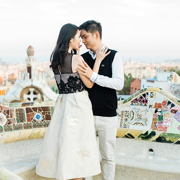 My top 5 places for Engagement Photo session in Barcelona