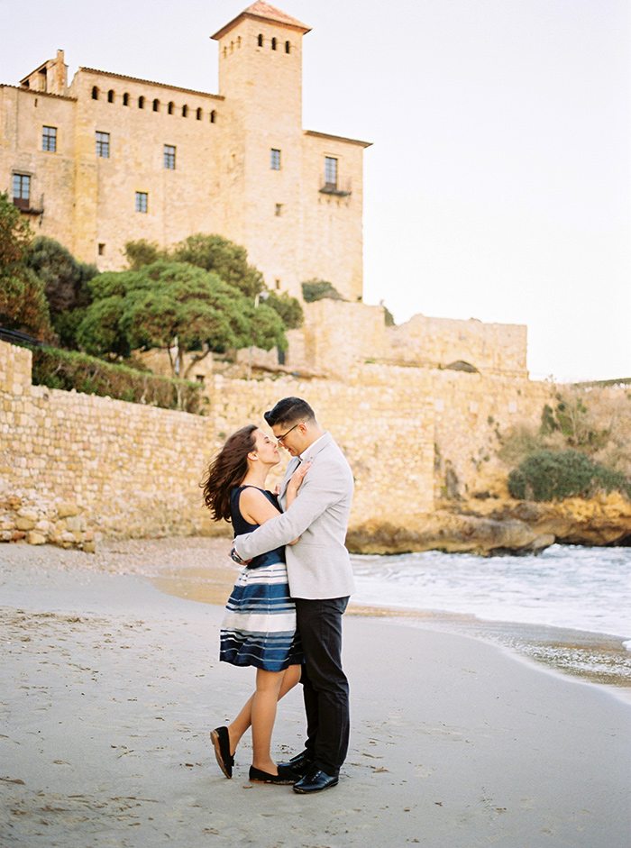 Castell de Tamarit Wedding Photography | Secret Proposal Photography | Film Photographer Spain | Kodak Portra 400