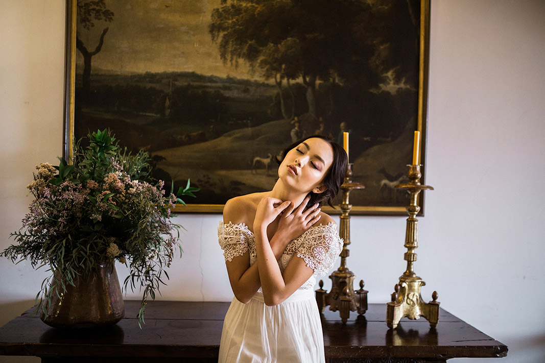 jose amria peiro wedding dress | destination wedding photographer | film wedding photographer