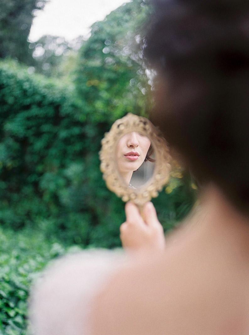 details of bride's portrait | destination wedding photographer | film wedding photographer
