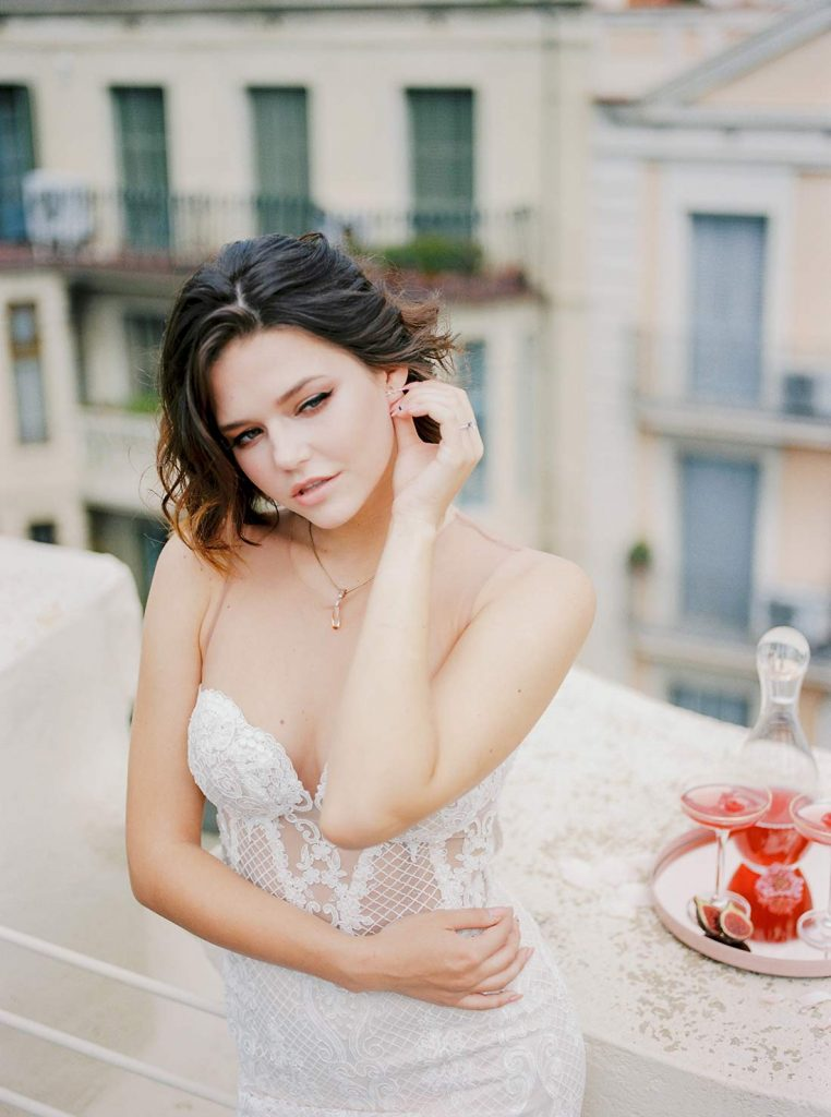 Barcelona Elopement Wedding | Destination Film Wedding Photographer Barcelona Spain Europe