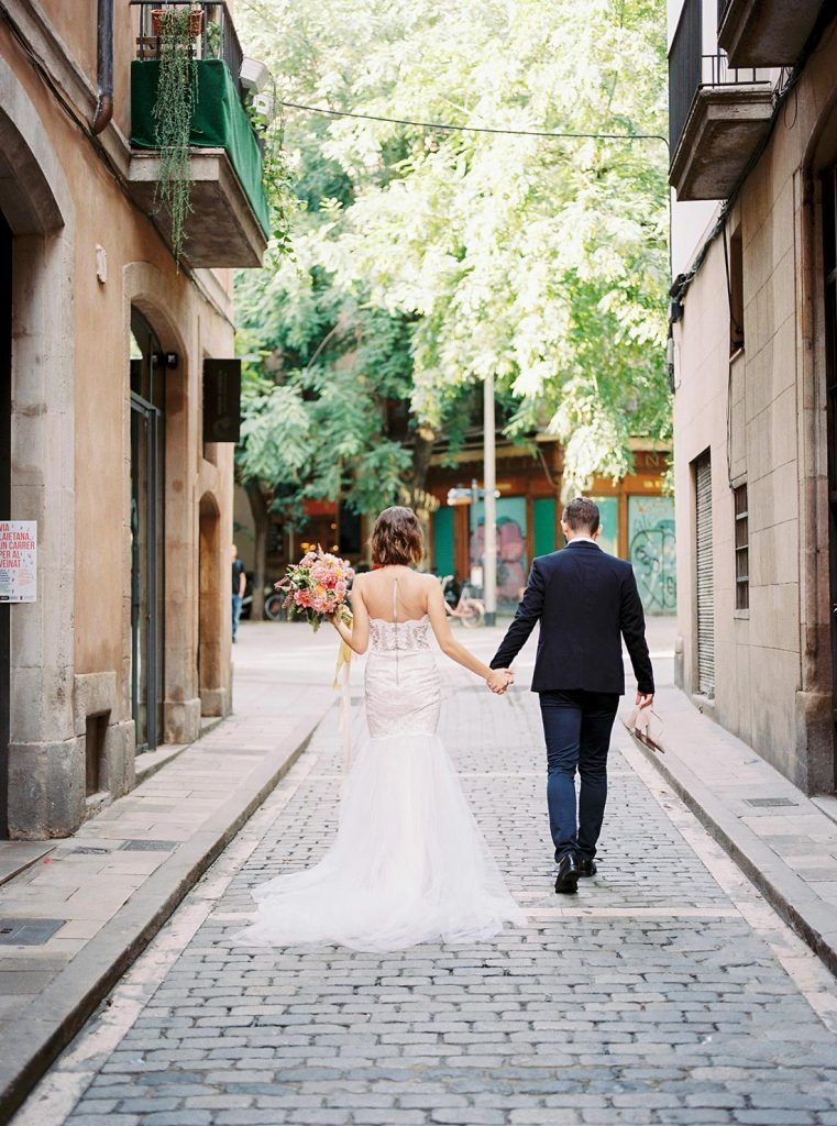 Barcelona Elopement Photographer | Lena Karelova Photography