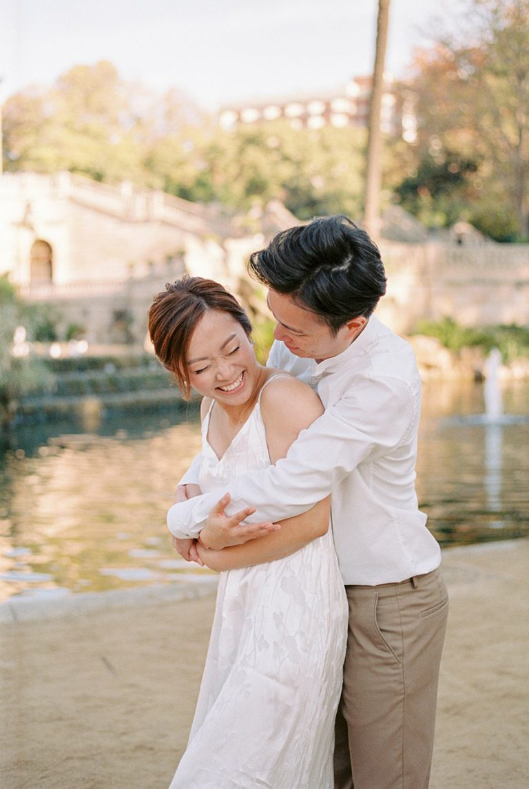 Barcelona Ciutadella Park Couple Photo Shoot