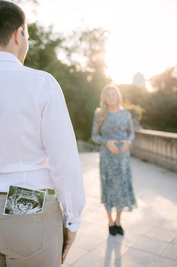 Sesión de embarazo en Barcelona, Parque de Ciutadella